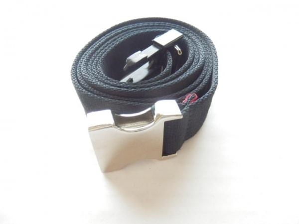 mastermind(マスターマインド) ベルト 黒×白 化学繊維