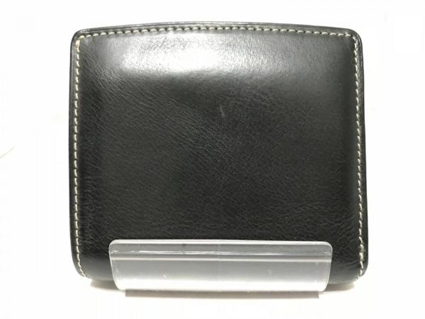 CORBO(コルボ) 2つ折り財布 黒 レザー