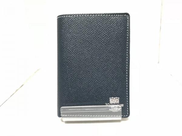 WhitehouseCox(ホワイトハウスコックス) 2つ折り財布 ダークグリーン レザー