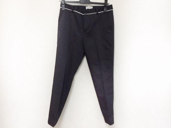 DEUXIEME CLASSE(ドゥーズィエム) パンツ サイズ34 S レディース美品  黒×白