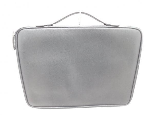 FURLA(フルラ) バッグ ダークグレー PCケース レザー