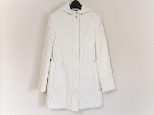 ARMANI(アルマーニ) コート サイズ38 M レディース美品  白 冬物