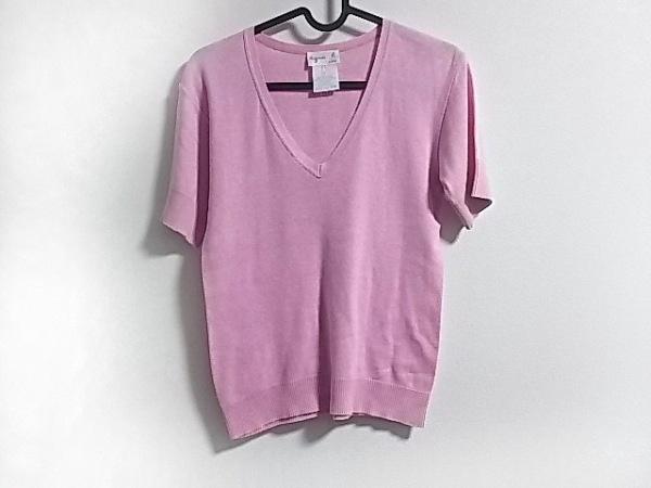 agnes b(アニエスベー) 半袖カットソー サイズ1 S レディース ピンク