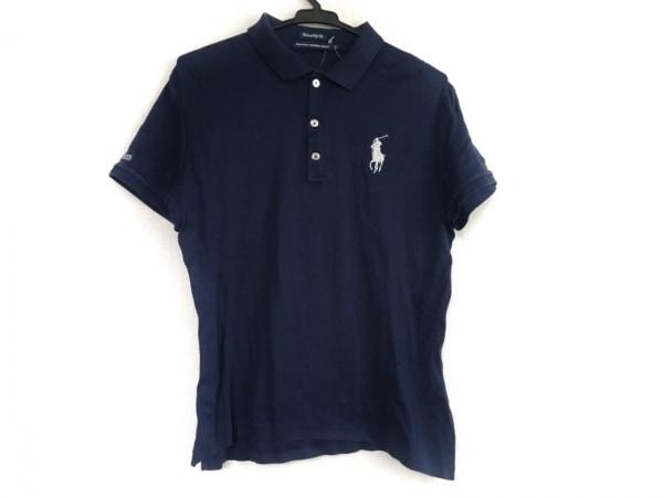 ラルフローレンゴルフ 半袖ポロシャツ サイズL メンズ ビッグポニー ネイビー
