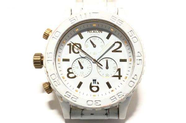 NIXON(ニクソン) 腕時計 MINIMIZE 42-20 ボーイズ クロノグラフ 白