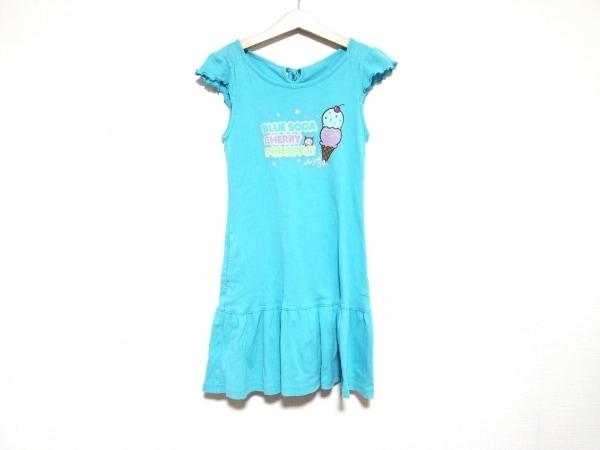 ANGEL BLUE(エンジェルブルー) ワンピース サイズ135 レディース美品  ラメ/スター