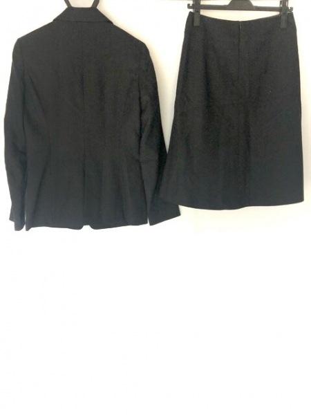 ナチュラルビューティー ベーシック スカートスーツ サイズL レディース美品  黒