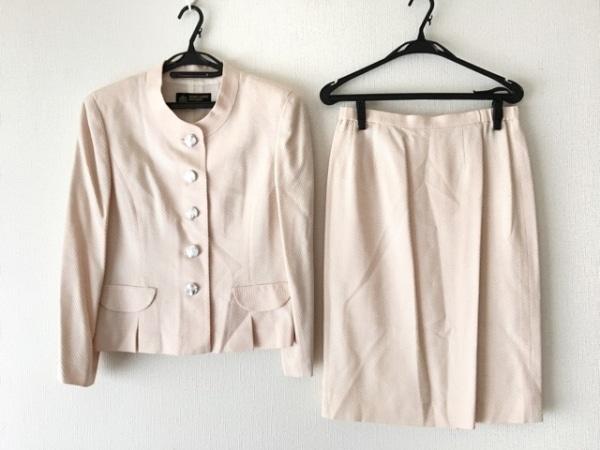 HARDY AMIES(ハーディエイミス) スカートスーツ サイズ43 レディース ピンク