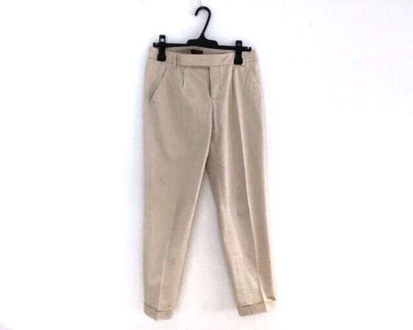 Filo di Seta(フィロディセタ) パンツ サイズ40 M レディース ベージュ