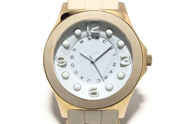 MARC BY MARC JACOBS(マークジェイコブス) 腕時計 MBM2501 レディース 白