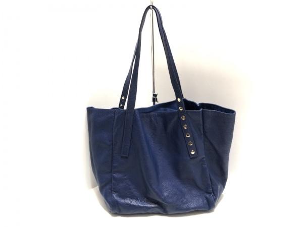 Spick&Span(スピック&スパン) トートバッグ ブルー accessoires 合皮