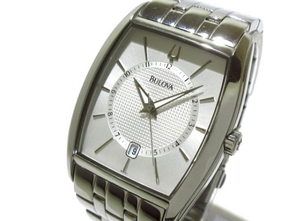 Bulova(ブローバ) 腕時計美品  C877635 メンズ シルバー