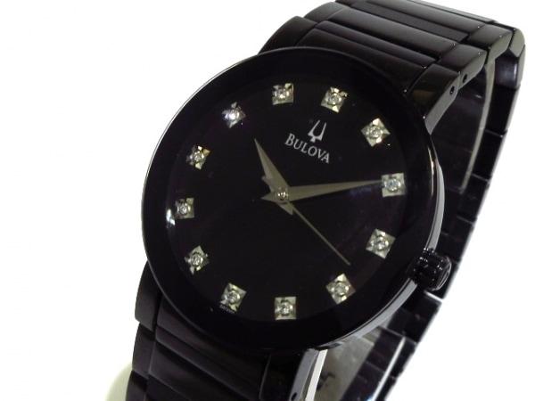 Bulova(ブローバ) 腕時計美品  C9671347 メンズ 黒