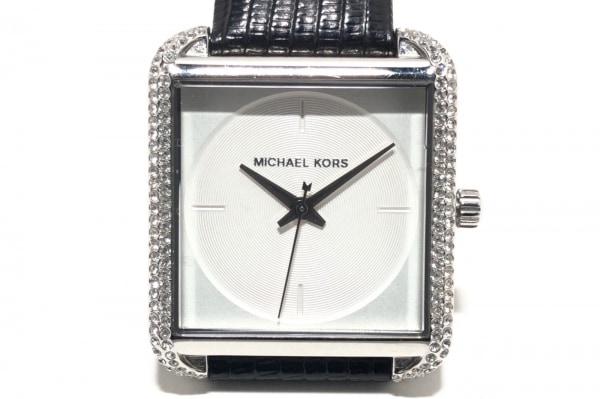MICHAEL KORS(マイケルコース) 腕時計 MK-2583 レディース ラインストーンベゼル 白