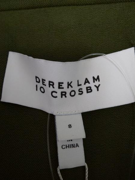 DEREK LAM(デレクラム) ジャケット サイズ8 M レディース美品  ダークグリーン
