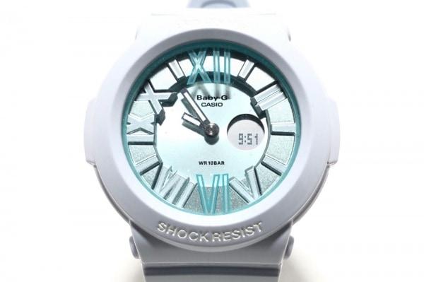 CASIO(カシオ) 腕時計 Baby-G BGA-161 レディース ラバーベルト ライトグリーン