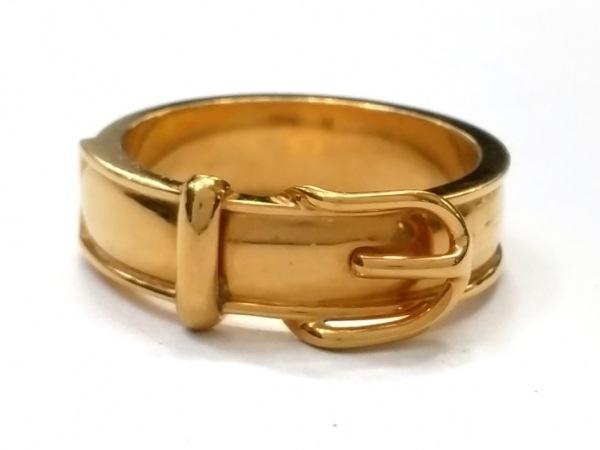 HERMES(エルメス) スカーフリング美品  ブックルセリエ 金属素材 ゴールド