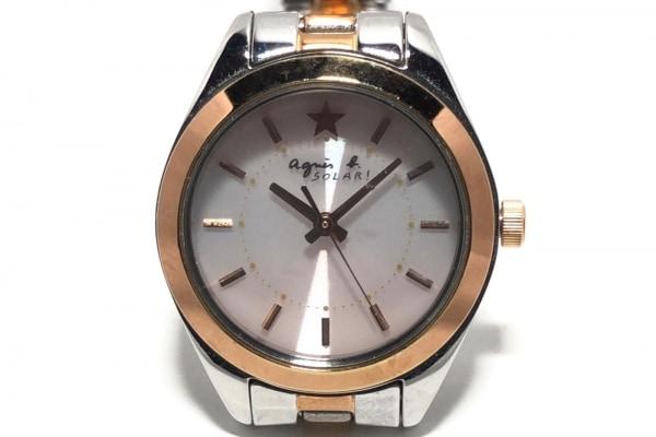 agnes b(アニエスベー) 腕時計 V117-0AH0 レディース 白