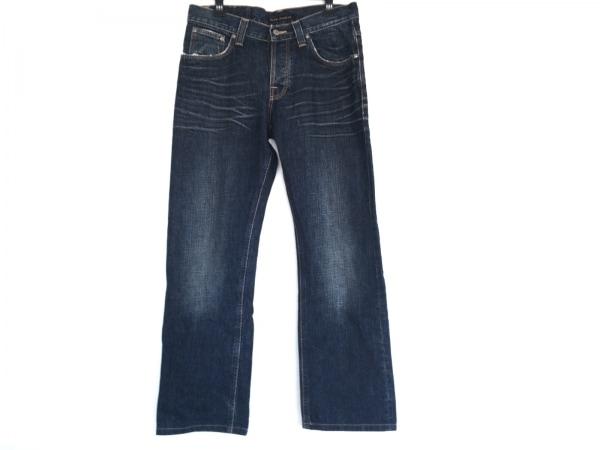 NudieJeans(ヌーディージーンズ) ジーンズ メンズ美品  ネイビー