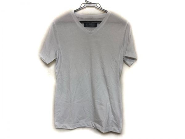 WJK(ダブルジェイケイ) 半袖Tシャツ サイズS メンズ美品  白