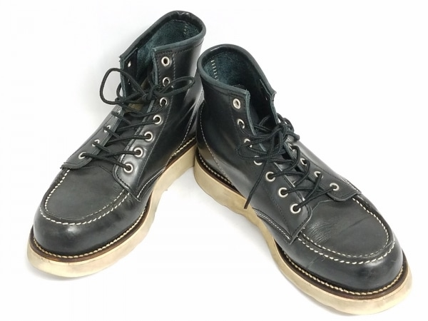 CEDARCREST(セダークレスト) ショートブーツ 8 1/2 メンズ 黒 レザー