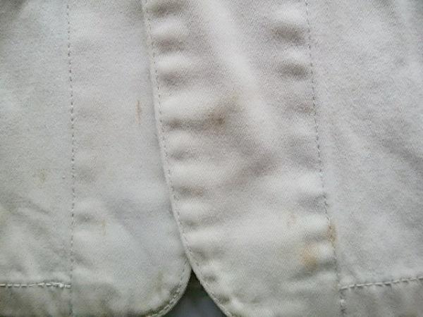 インパクティスケリー ジャケット サイズM メンズ アイボリー×ネイビー 刺繍
