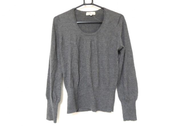 YOSHIE INABA(ヨシエイナバ) 長袖セーター サイズ40 M レディース美品  グレー