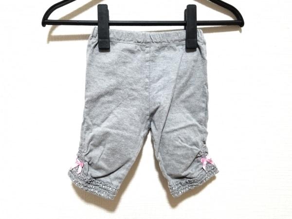 miki HOUSE(ミキハウス) パンツ サイズ80 レディース グレー レギンス/フリル