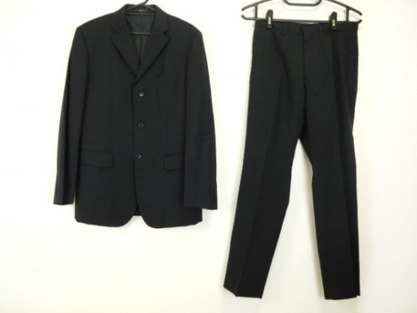 COMME CA ISM(コムサイズム) シングルスーツ サイズM メンズ 黒 シングル