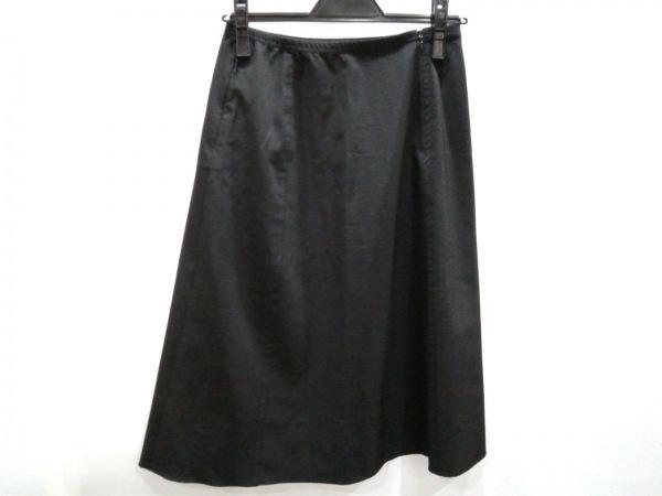 FOXEY NEW YORK(フォクシーニューヨーク) スカート サイズ40 M レディース美品  黒