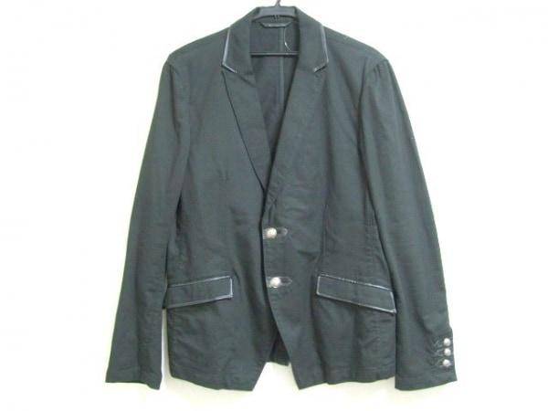 ハイダウェイニコル ジャケット サイズ50 メンズ美品  黒 春・秋物