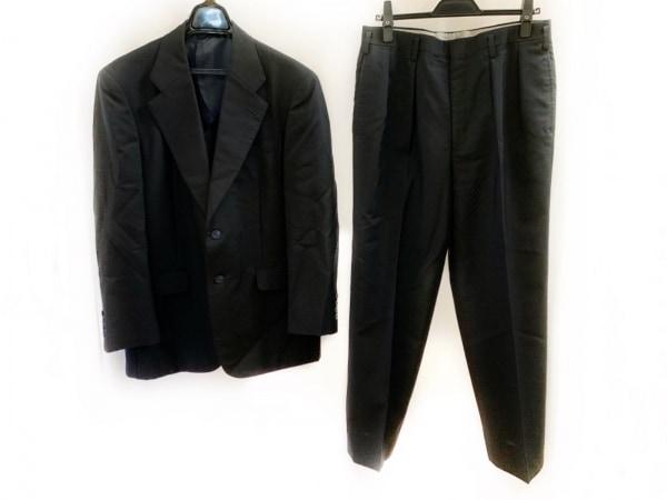 ギーブス&ホークス シングルスーツ メンズ ダークネイビー 肩パッド/ネーム刺繍