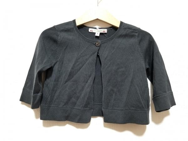 Bonpoint(ボンポワン) カーディガン サイズ3 L レディース美品  ダークグレー 子供服