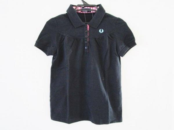 5dfd9fe079fd FRED PERRY(フレッドペリー) 半袖ポロシャツ サイズS レディース ネイビー