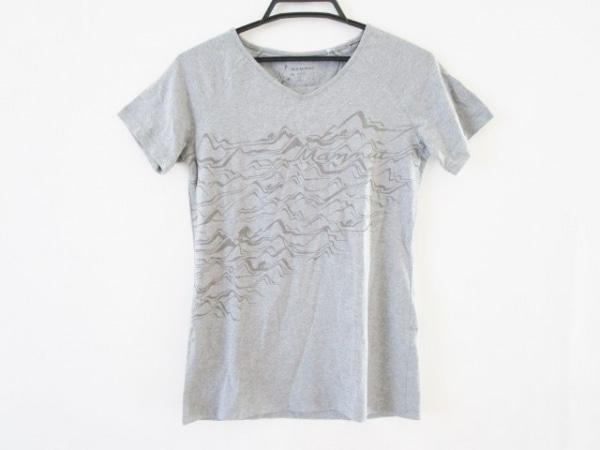 MAMMUT(マムート) 半袖Tシャツ サイズS(USA) レディース美品  グレー