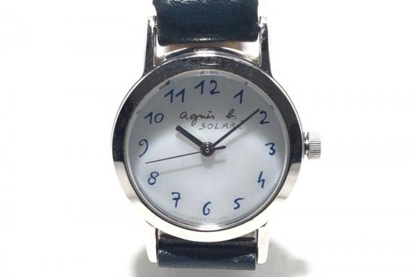 agnes b(アニエスベー) 腕時計 V117-0AT0 レディース 白