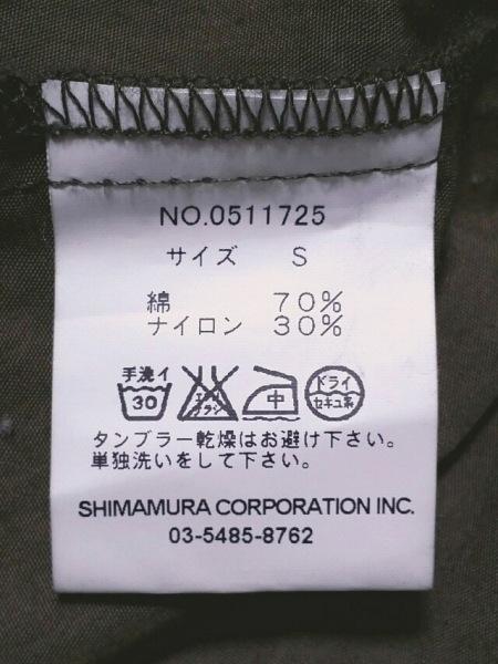 インパクティスケリー コート サイズS レディース 黒×カーキ×マルチ