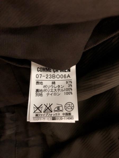 COMME CA MEN(コムサメン) ブルゾン サイズM メンズ ダークブラウン 春・秋物