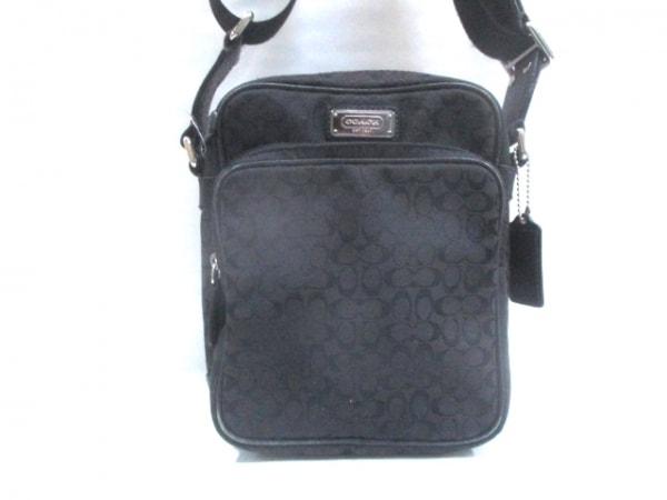 COACH(コーチ) ショルダーバッグ - - 黒 ジャガード