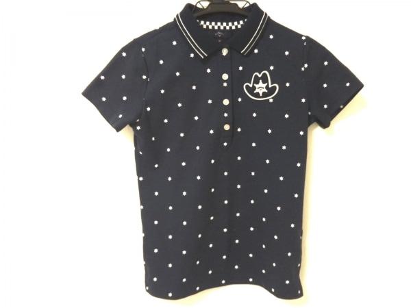 CALLAWAY(キャロウェイ) 半袖ポロシャツ レディース ネイビー×白