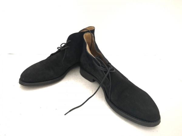 Lloyd Footwear(ロイドフットウェア) シューズ 3 1/2 メンズ 黒 スエード