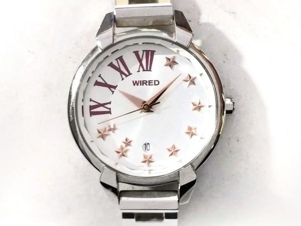 WIRED(ワイアード) 腕時計 7N82-0GL0 レディース 白