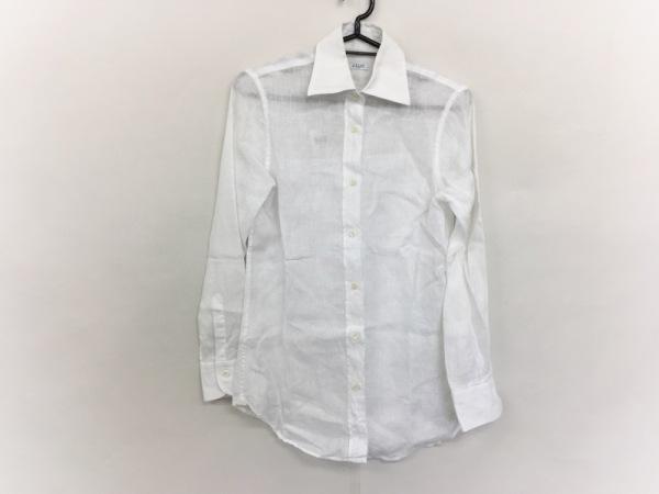 ORIAN(オリアン) 長袖シャツブラウス サイズ40 M レディース美品  白