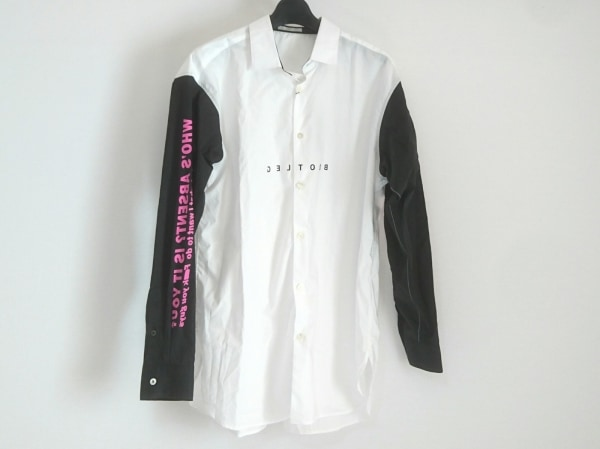 エデュケーションフロムヤングマシーン 長袖シャツ サイズ2 M メンズ美品  刺繍
