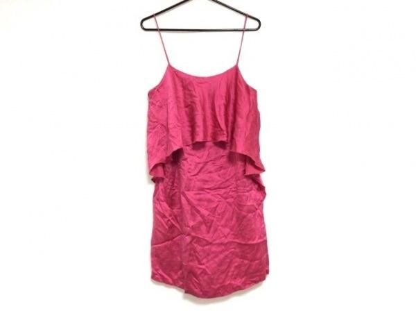 halston(ホルストン) ワンピース サイズ2 M レディース美品  ピンク