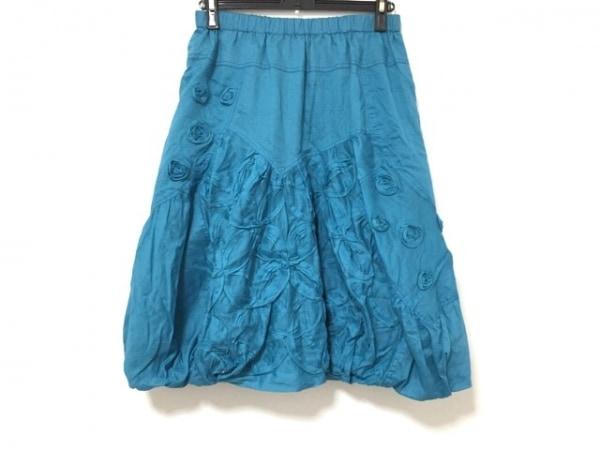 EIKO KONDO(エイココンドウ) バルーンスカート サイズF レディース美品  ブルー