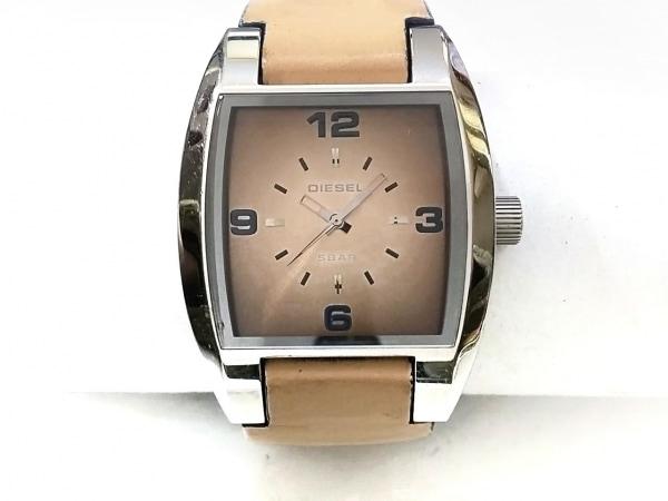 DIESEL(ディーゼル) 腕時計 DZ-1048 メンズ ダークブラウン