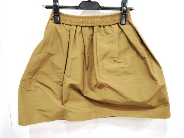 Shinzone(シンゾーン) スカート サイズ36 S レディース美品  ブラウン My dartagnan
