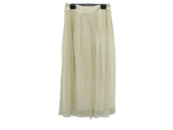 【中古】 ニジュウサンク 23区 スカート サイズ40 M レディース ベージュ ONWARD