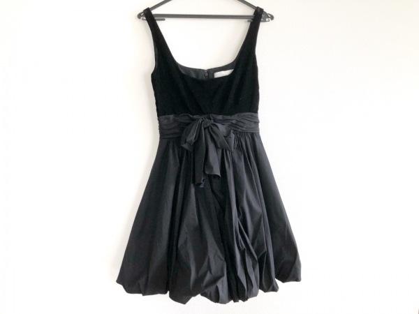ジルバイジルスチュアート ドレス サイズ0 XS レディース美品  黒
